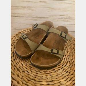 Birki's by Birkenstock's Fussbett slide sandals